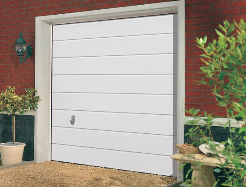 ... Traffic white - Garage Doors Direct ... & Sectional garage doors roller garage door wooden garage door ... pezcame.com